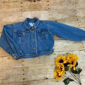 Girls denim jacket by NokNok. Size 6